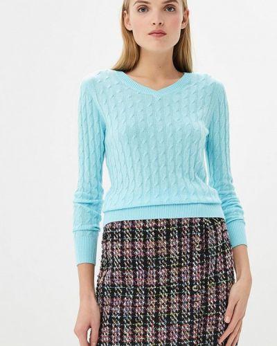 Голубой пуловер Baon