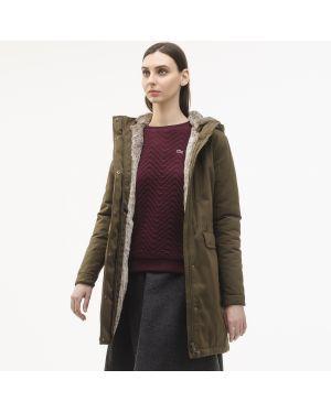 Куртка зеленая Lacoste