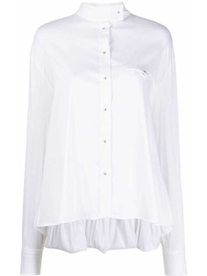 Длинная рубашка - белая Esteban Cortazar
