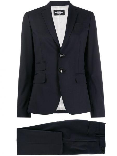 Spodni garnitur niebieski kostium Dsquared2