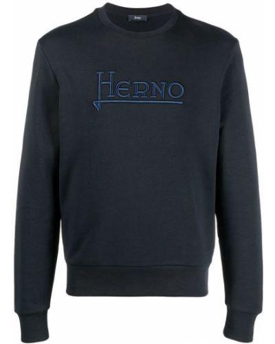 Sweter - niebieski Herno