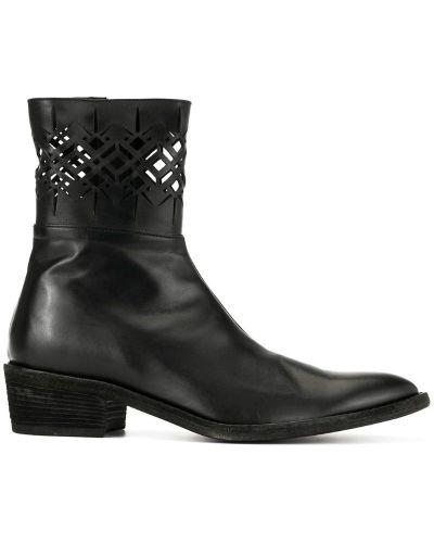 Ботильоны кожаный для обуви Haider Ackermann