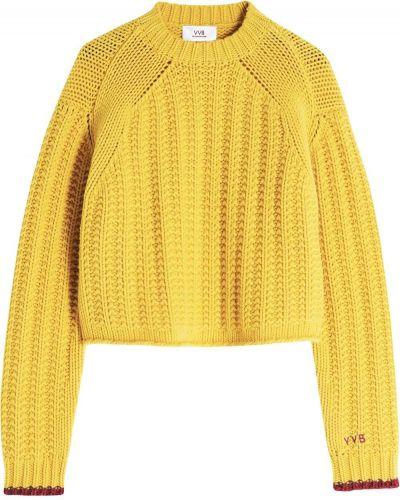Желтый шерстяной джемпер Victoria, Victoria Beckham