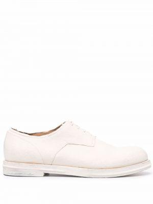 Белые кожаные туфли Uma Wang