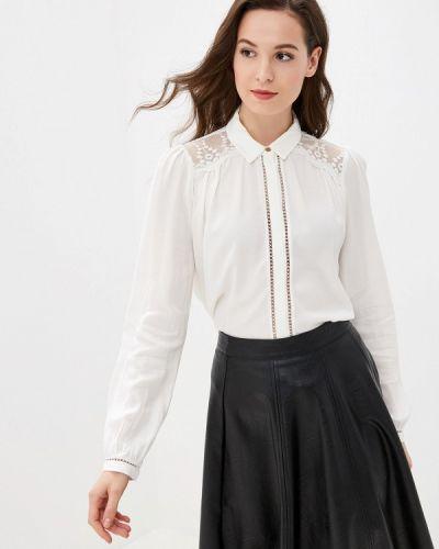 Блузка с длинным рукавом белая турецкий Naf Naf