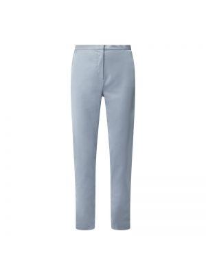Satynowe spodnie - niebieskie Swing