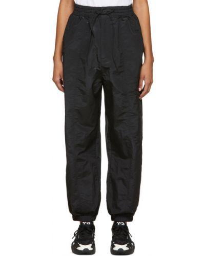 Ze sznurkiem do ściągania czarny klasyczne spodnie z kieszeniami Y-3