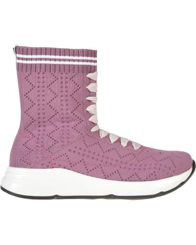 Кожаные кроссовки - фиолетовые Jog Dog