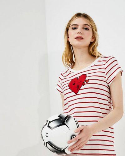 Белая футболка French Connection