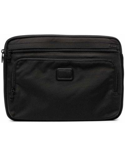 Czarna torebka z nylonu Tumi