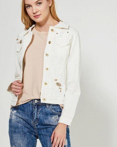 Джинсовая куртка - белая Marissimo
