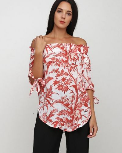 Комбинированная блузка Zabaione