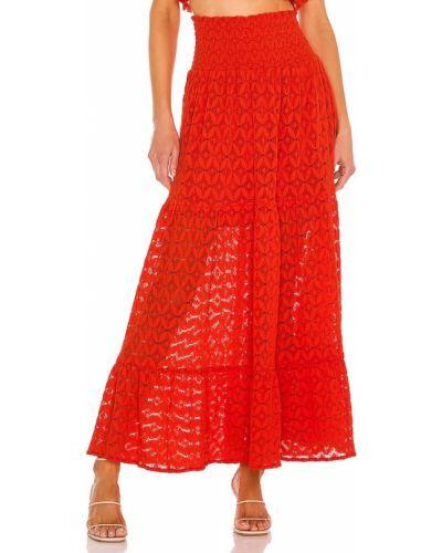 Ватная хлопковая юбка макси с подкладкой Show Me Your Mumu