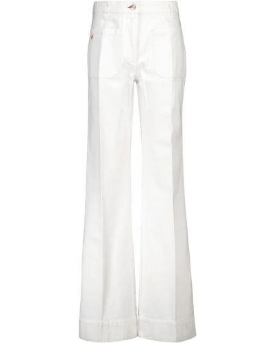 Белые итальянские джинсы Victoria Beckham