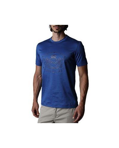 Синяя футболка Castello D'oro