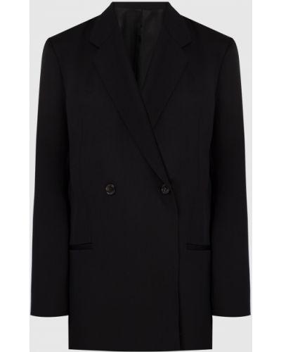 Черный шерстяной пиджак Toteme