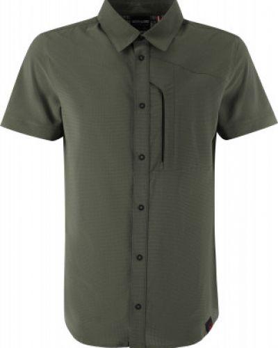 Зеленая рубашка с короткими рукавами на кнопках Northland