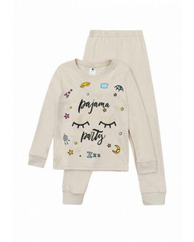 Пижамная бежевая пижама Garnamama