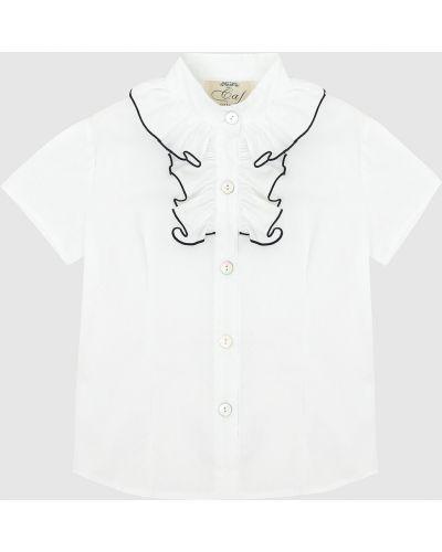 Белая блузка Caf