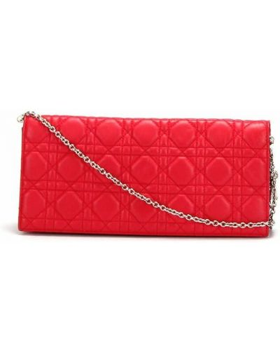 Czerwony portfel Dior Vintage
