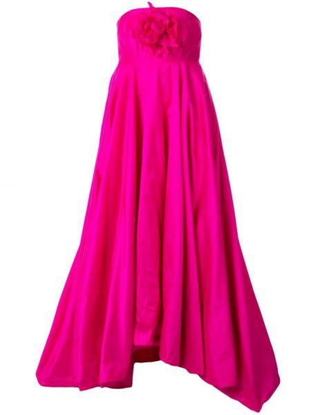 Вечернее платье розовое на молнии Bambah
