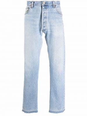 Niebieskie jeansy z paskiem Gallery Dept.