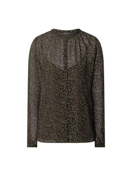 Zielona bluzka z szyfonu Esprit Collection