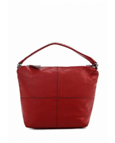 Красная сумка-хобо Bata