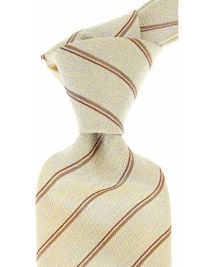 Złoty krawat - żółty Raffaello