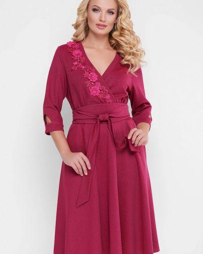 Платье - бордовое Vlavi