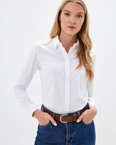 Рубашка с длинным рукавом белая Ostin