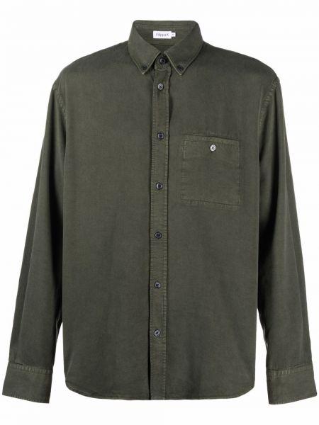 Koszula zapinane na guziki - zielona Filippa K