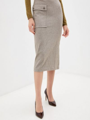Зауженная юбка - бежевая Bulmer