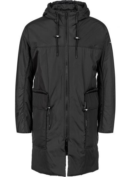 Куртка на молнии - черная Emporio Armani