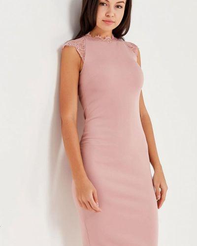 Розовое платье весеннее Love Republic