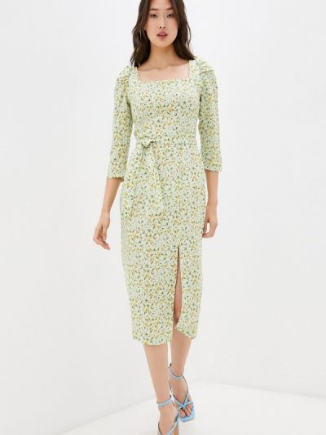 Зеленое платье осеннее Masha Mart