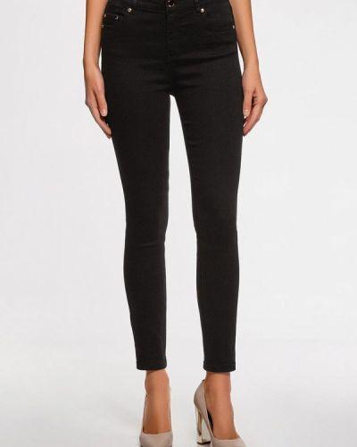 Черные джинсы Oodji