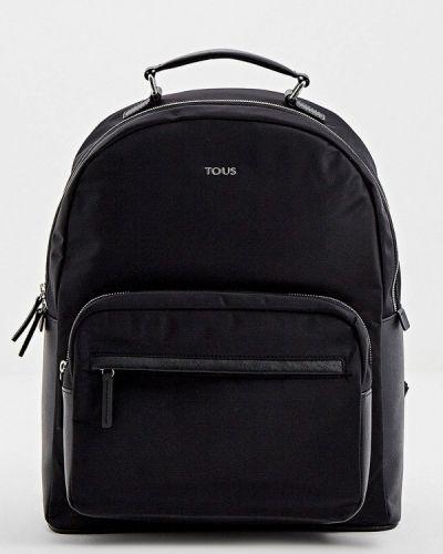 Городской черный рюкзак Tous