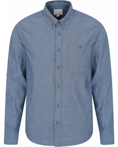 Koszula - niebieska Mountain Warehouse