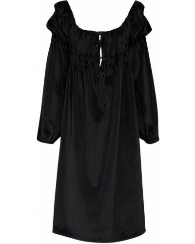 Sukienka midi ażurowy z mankietami ácheval Pampa