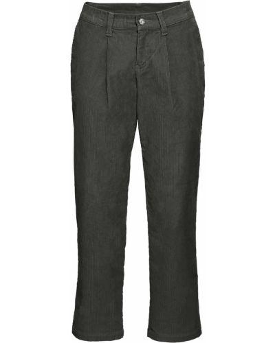 Свободные брюки вельветовые с карманами Bonprix