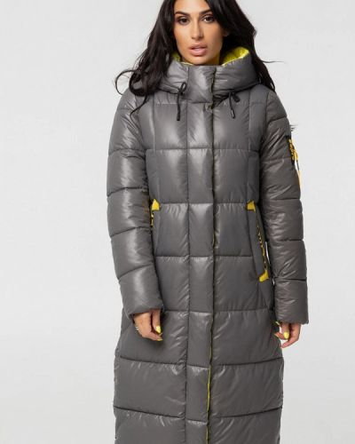 Серая теплая куртка Whitefox