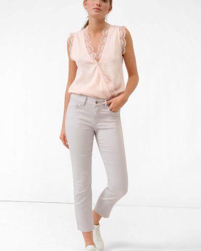 Szare spodnie materiałowe Orsay