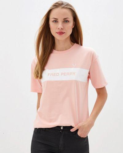 Поло розовый Fred Perry