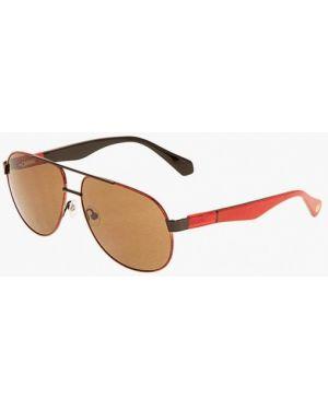 Красные солнцезащитные очки с завязками Enni Marco