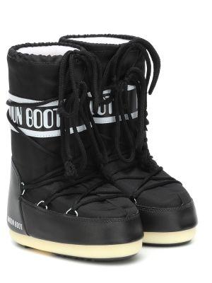 Сапоги черные Moon Boot Kids