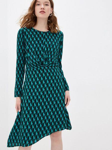 Зеленое платье Zabaione