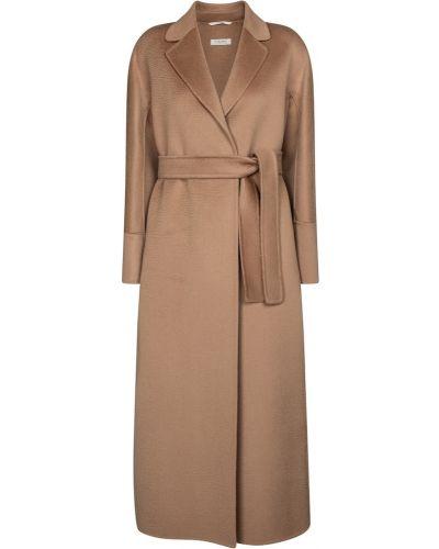 Коричневое шерстяное пальто 's Max Mara