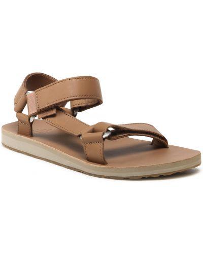 Brązowe sandały casual Teva