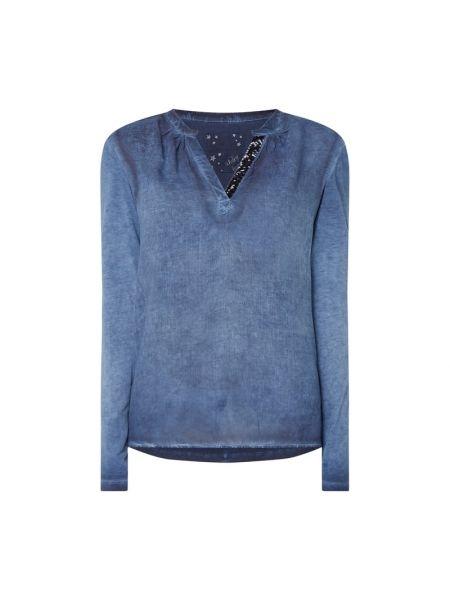Bluzka z cekinami - niebieska Lieblingsstück
